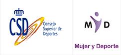Con la colaboración de CSD-Mujer y Deporte
